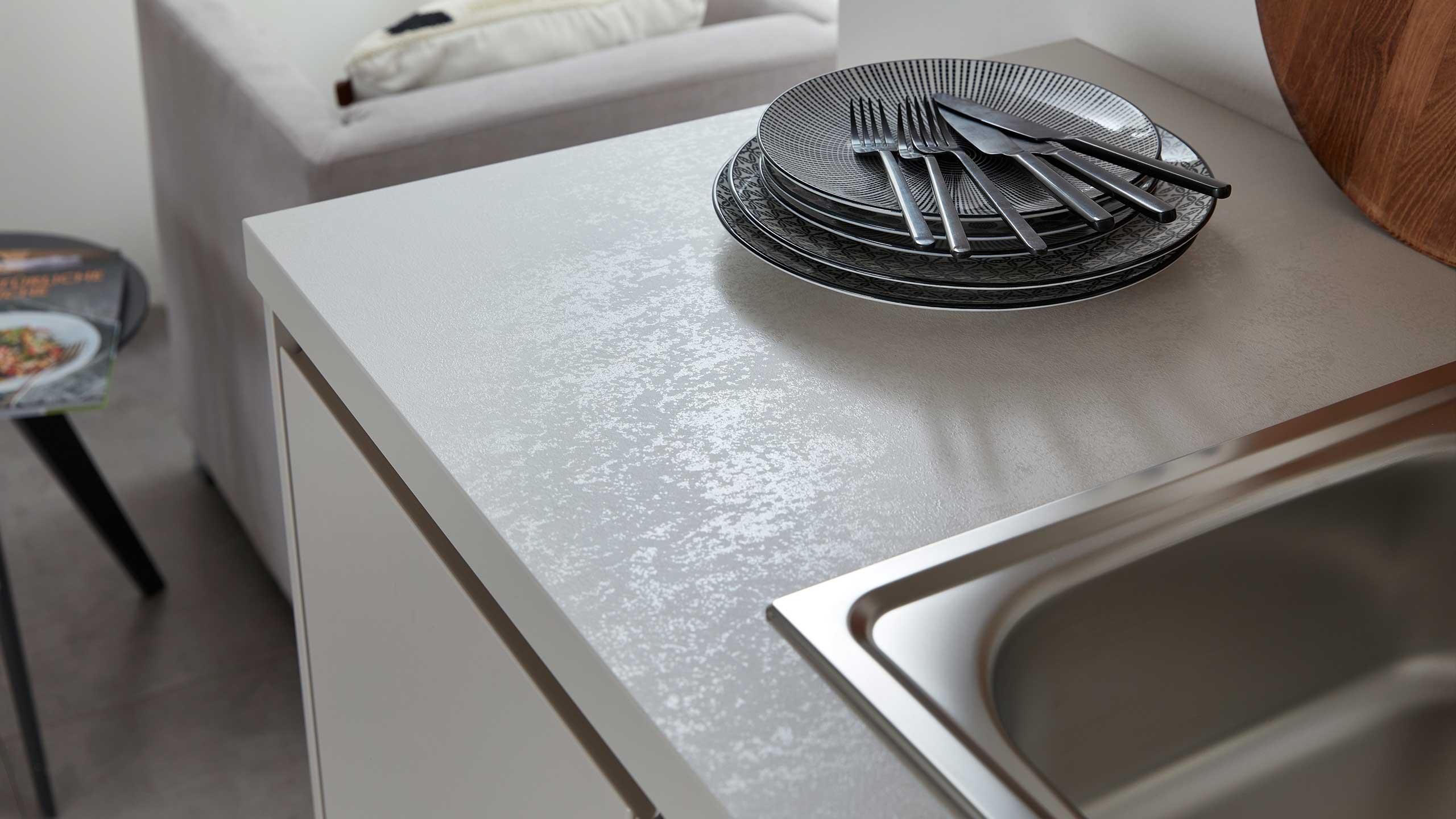 Küchenarbeitsplatte aus Stein von Wert-Küche
