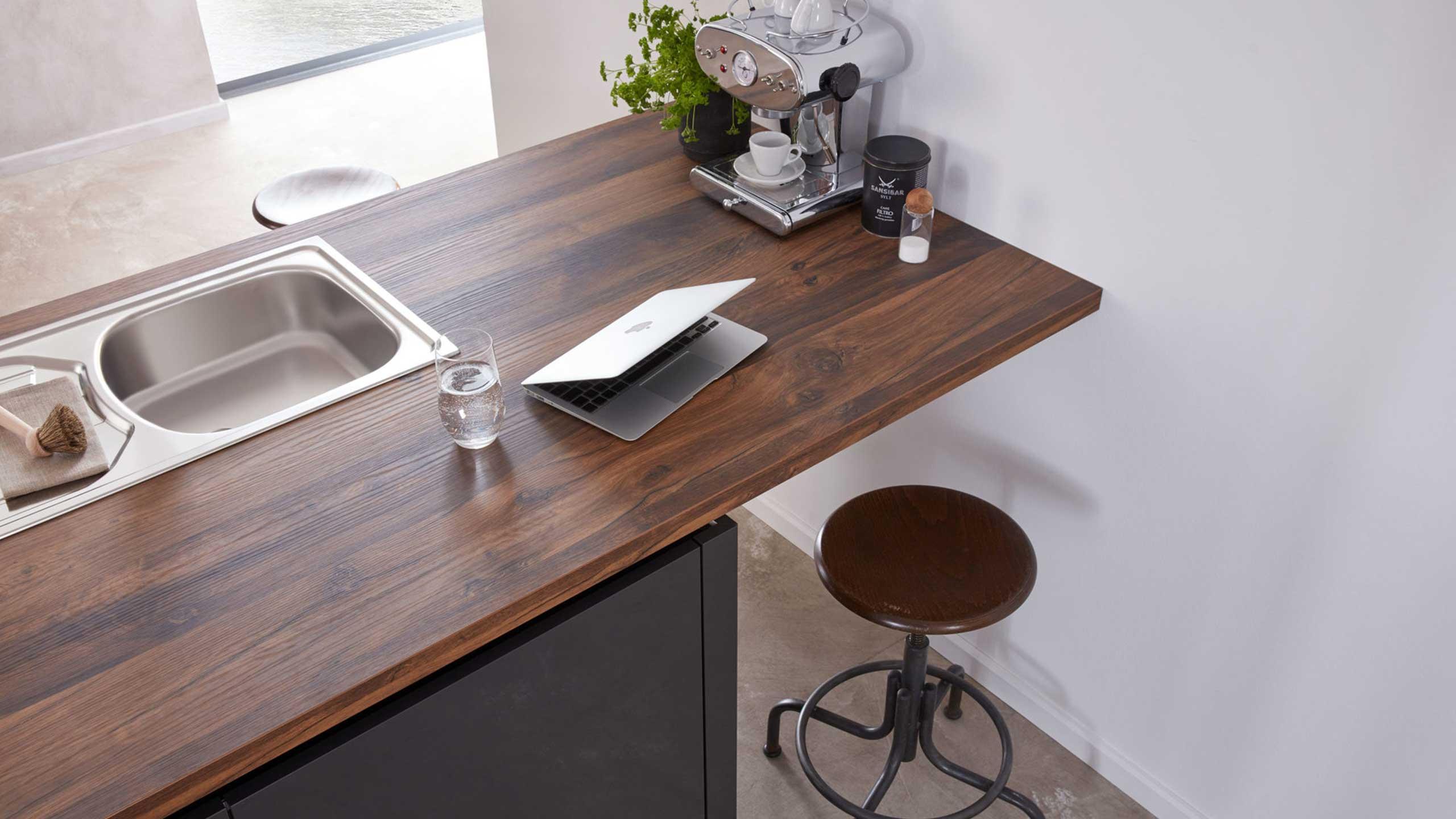 Küchenarbeitsplatte aus Holz von Wert-Küche